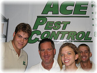 All of us at Ace Pest Control